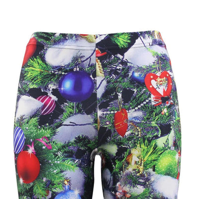 Decoration Christmas Leggings