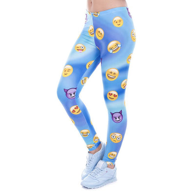 Emoji Sport Leggings