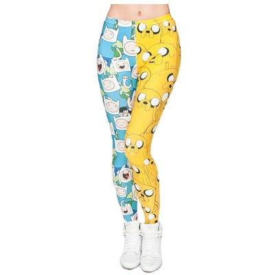 Finn and Jake Adventure Time Leggings
