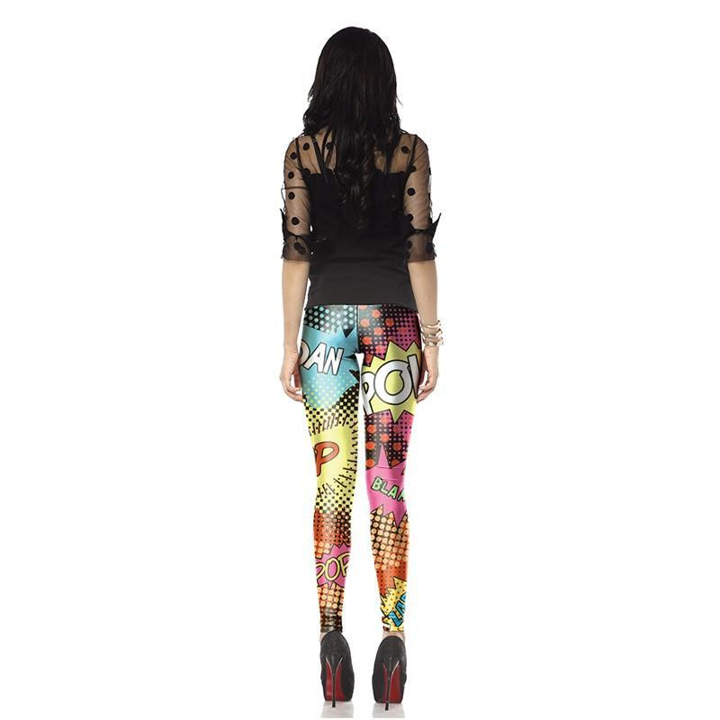 Retro Pop Fit Leggings