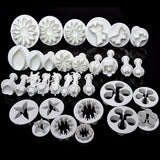 Fondant Cutters (Set of 33)