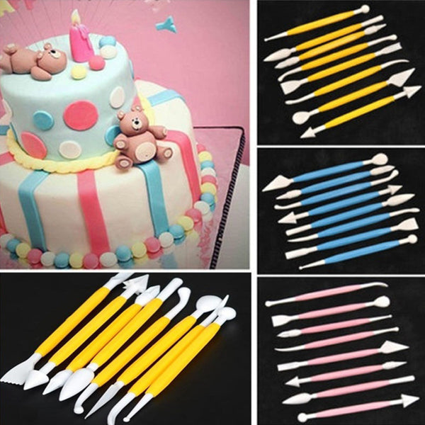 Fondant Sculpting Tools (Set of 8)
