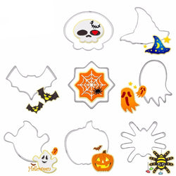 Halloween Cookie Cutters (Set of 8)