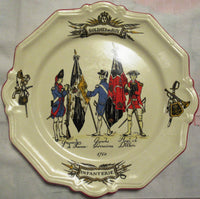 "Collection plate ""Soldats du Roy 1760"""