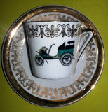Coffee service old cars