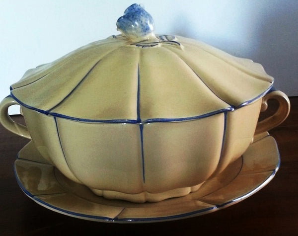 Soup tureen art deco