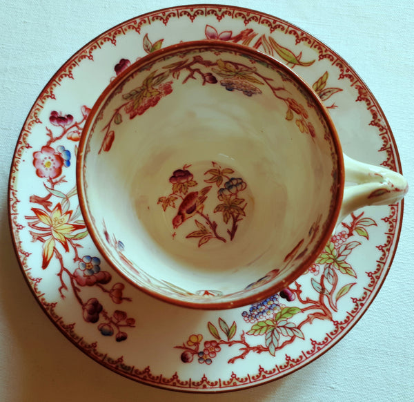 Cups and saucers Minton type n° 252