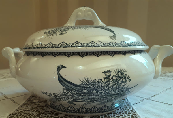 Soup tureen Lily of the valley