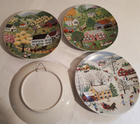 The 4 seasons plates