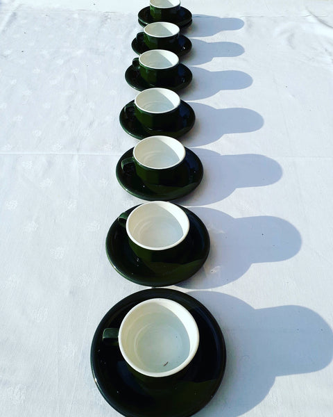 Green coffee service Bistrot