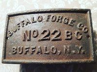 Collector plate Buffalo