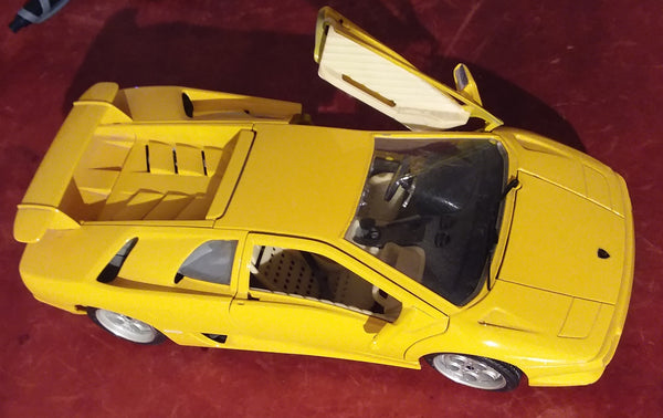 Miniature Lamborghini car