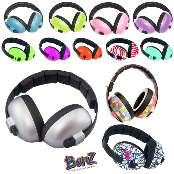 Banz Hear No Blare Infant Earmuffs