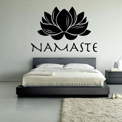Sticker Lotus Namaste