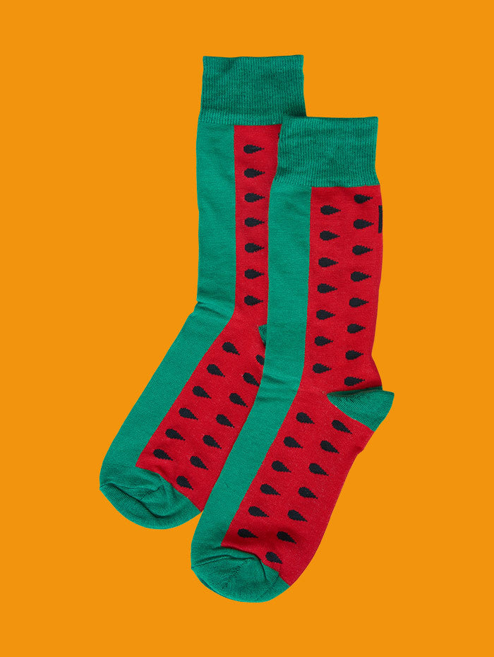 Introducing the Watermelon Sock!