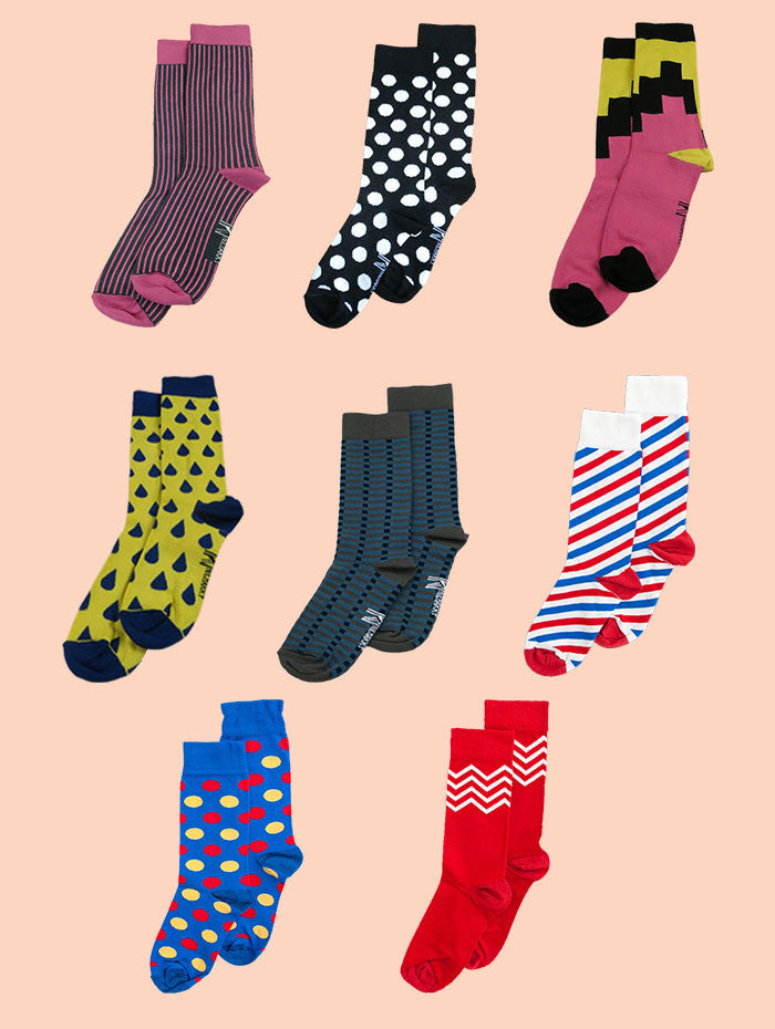 Colourful Sock Packs