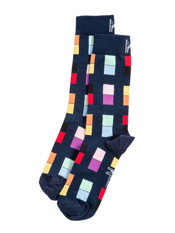 Apartment Block Sock (Men)