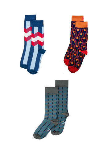 Blues Sock Bundle (4-7)