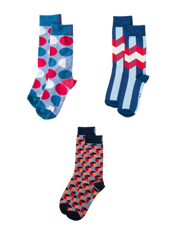 Outrageous Sock Bundle (4-7)