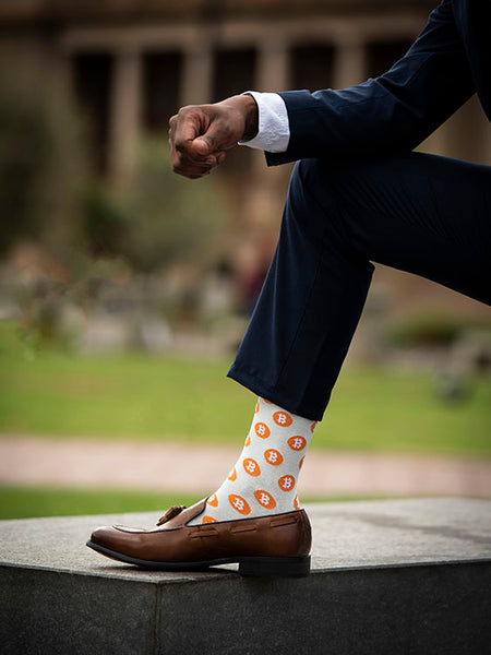 BitCoin Crypto Sock (8-11)