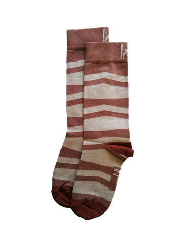 Brown Ramp Sock (Size 4-7)
