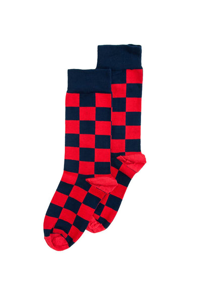 Checkerboard Sock (4-7)
