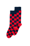 Checkerboard Sock (8-11)