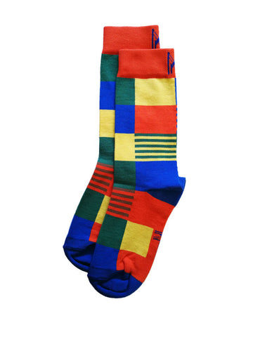 Colour Quilt Sock (Women)