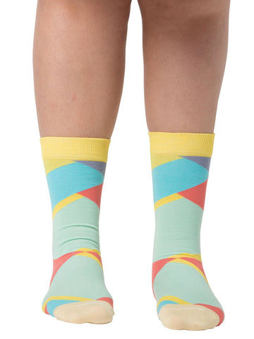 Diagonal Socks (Women)