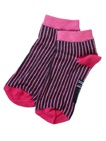 Pink Pinstripes Short