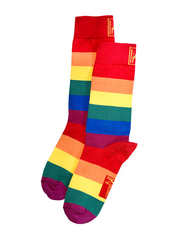 Pride Stripe Sock (Women)