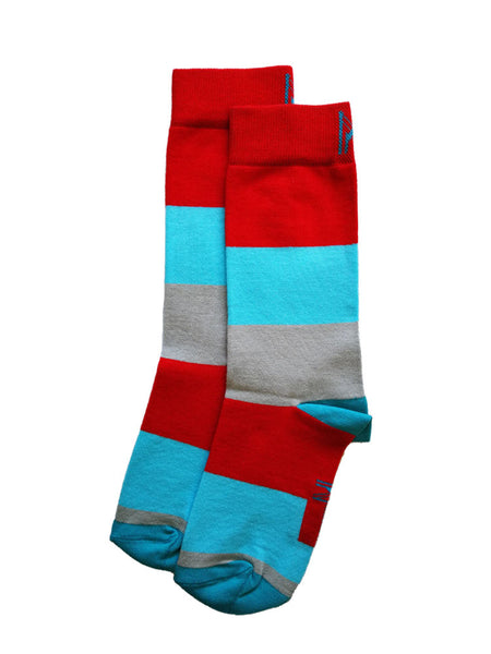 Summer Stripe Sock (4-7)