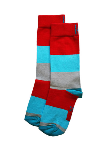 Summer Stripe Sock (Women)