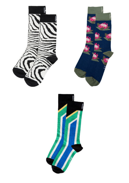 South African Sock Bundle (Size 4-7)