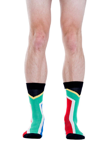 South Africa Flag Socks