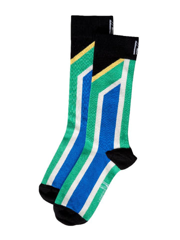 South African Flag Sock (Women)