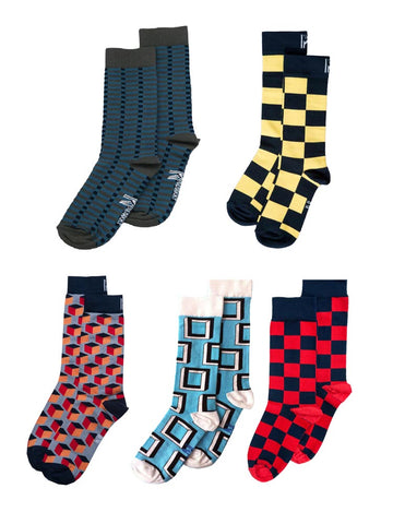Square Sock Bundle (4-7)
