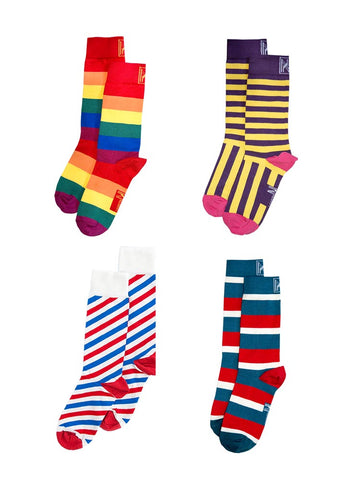 Stripe Sock Bundle Women