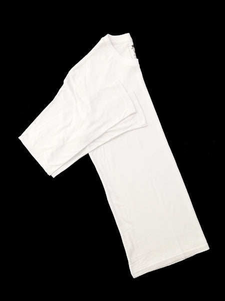 White Bamboo Long Sleeve T-Shirt