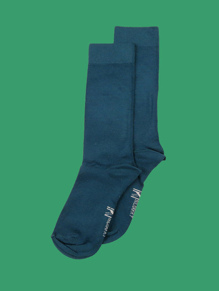Airforce Blue Sock