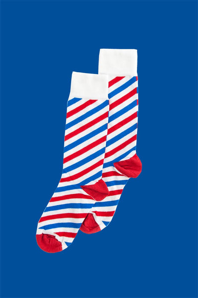 Barbershop Sock (8-11)