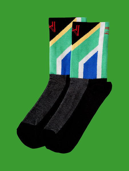 South African Flag Cycling