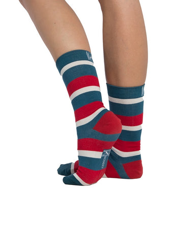 Jolly Stripe Sock (4-7)