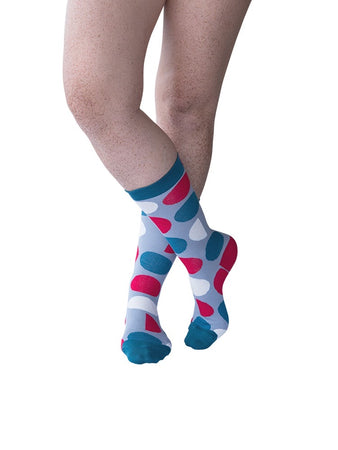 Jolly Spot Sock (4-7)