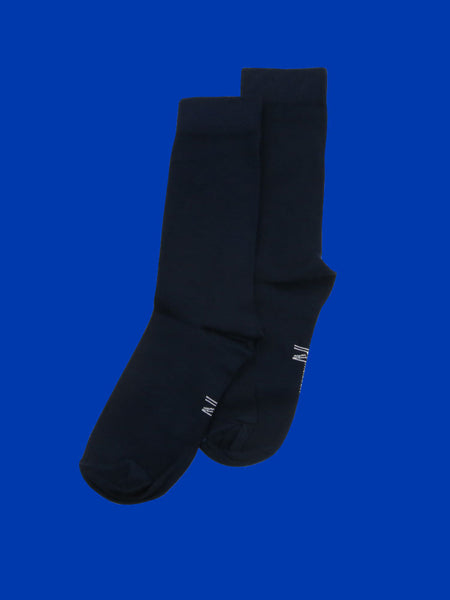 Navy Blue Sock (8-11)