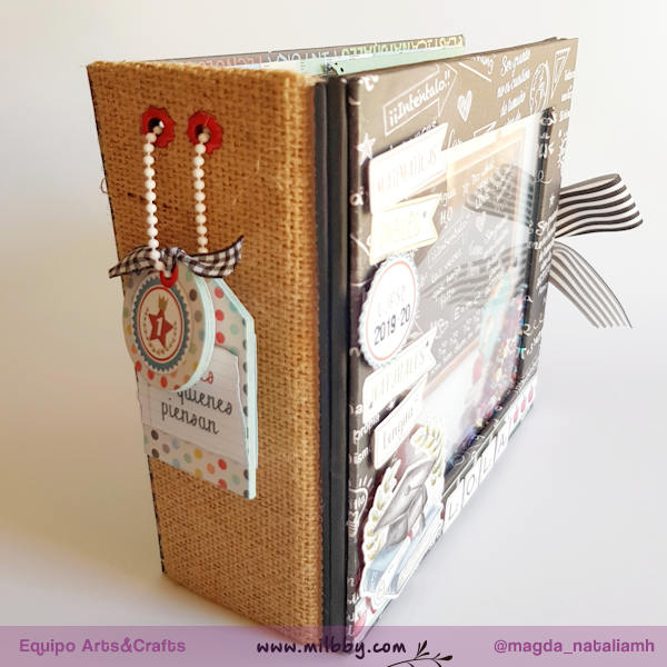 Tutorial Mini Album School: la Vuelta al Cole del Scrapbooking