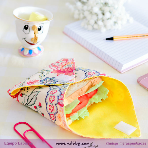 Tutorial de Costura Creativa: Funda para Sandwich
