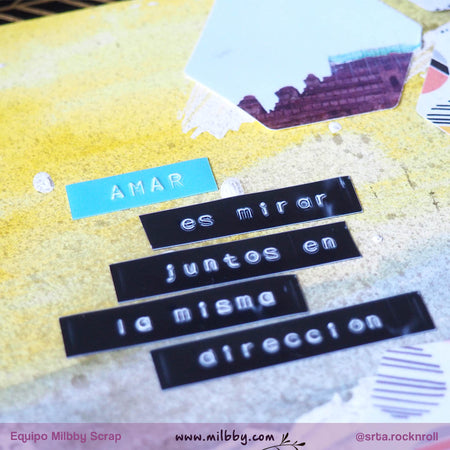 Tutorial Layout Scrapbooking