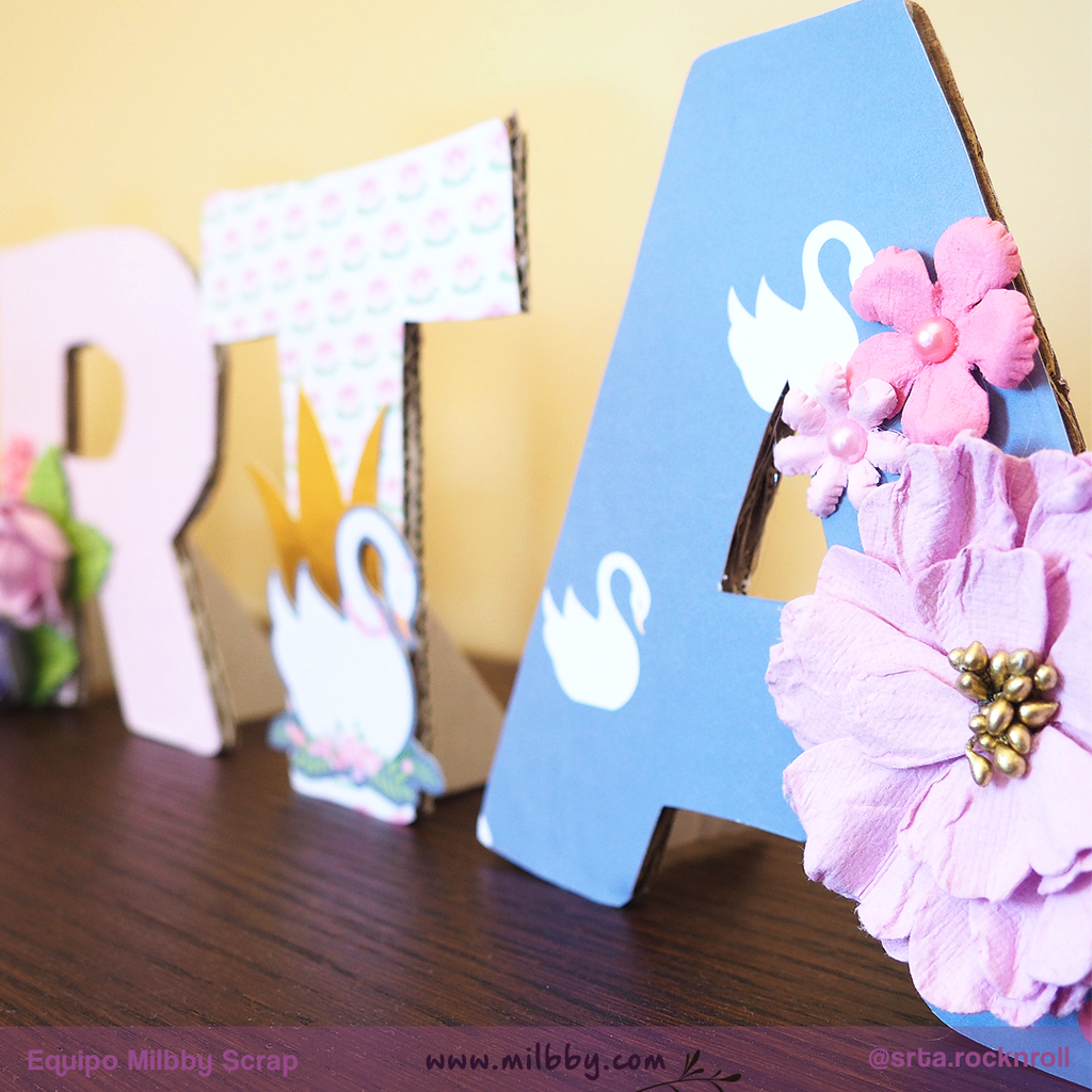Ideas Home Decor: Decoración Letras con Artemio