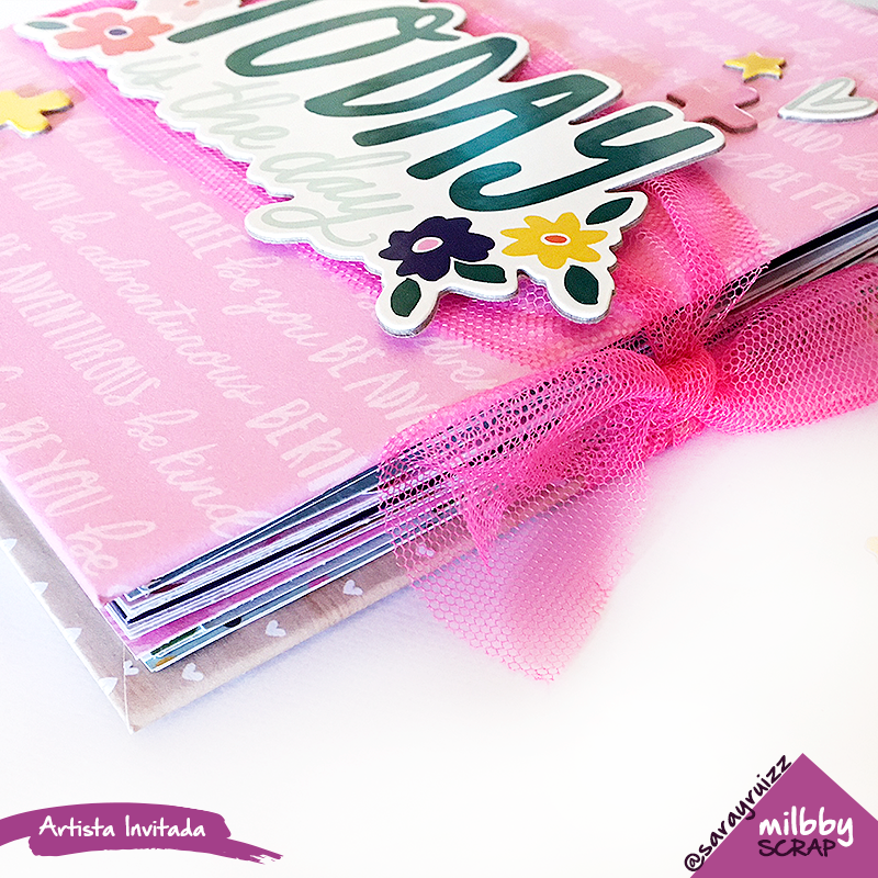 Mini Álbum Scrapbooking para Documentar Vacaciones